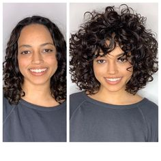 Short Curly Haircuts, Curly Hair Cuts, Curly Bob Hairstyles, Hairstyles With Bangs, Curly Hair Styles, 1920s Hairstyles, Curly Short, Wedding Hairstyles, Celebrity Hairstyles