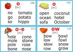 English for Kids Step by Step: phonics flashcards
