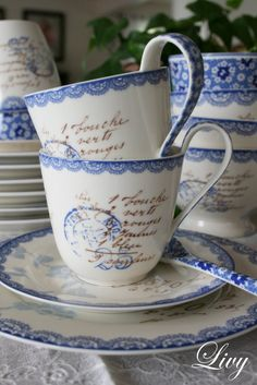 Greengate #cups #dinnerware #tableware