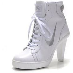 free shipping a2bac e9f4a flying on in hell ( pairwa84110)   Twitter Hohe Nikes, High Heel Sneakers