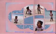 Shamallow - Page Album Photo Scrapbooking, Polaroid Film, Album Photos, Templates, Deco, Design, Template, Hobbies, Cards