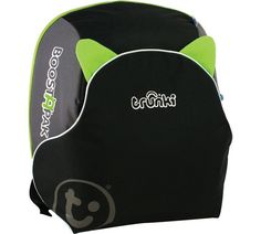 Buy Trunki Boostapak Car Booster Seat - Green at Argos.co.uk, visit Argos.co.uk to shop online for Car booster seats, Car seats, booster seats and travel accessories, Travel, Baby and nursery