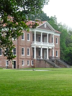 Scrumpdillyicious: Southern Plantations: A Journey Back in Time ~ Drayton Hall, considered the finest example of Georgian Palladian architecture in North America