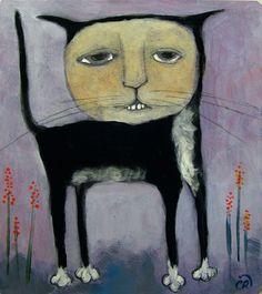 Contemporary Folk Art Painting