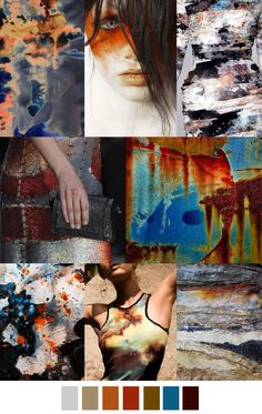 RUST AND STARDUST not one of my mood boards but i like it