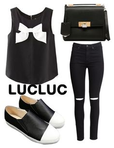 """""""Lucluc #71"""" by fiirework ❤ liked on Polyvore featuring H&M, Balenciaga and lucluc"""