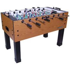 Carrom Agean Foosball Table, Brown