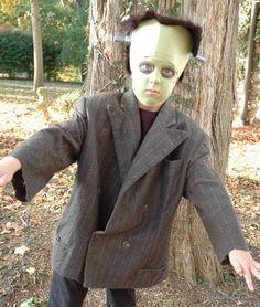 child costume frankenstein