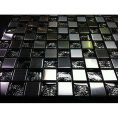 Marble Mix Marbella metalli-lasimosaiikki