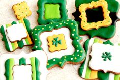 St. Patricks Day Cookies by Lila Loa.
