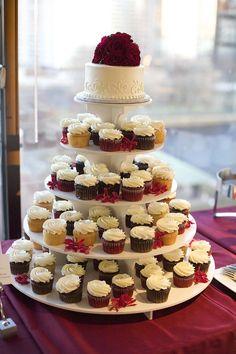 ►Oh, the cupcakes! #postres #bodas