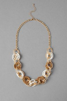Gulfton Beaded Link Necklace