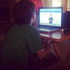 """""""Proud of this kiddo whose work in Animation from @youthdigital got him an opportunity to speak with the creators of the course. #proud"""""""
