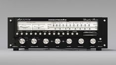 Artificial 3D rendering of the Marantz 2235b vintage receiver - blackface white dial