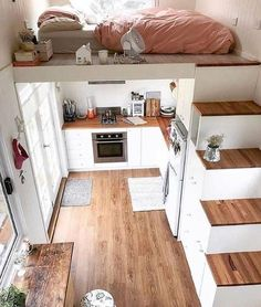 Love this but knowing me I'd roll out of the bed onto the floor below. This is a tad dangerous