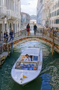 TAXI in #VENICE ITALY #Luxury #Travel