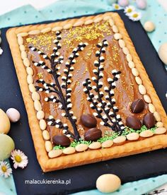 Polish Recipes, Healthy Dishes, Easter Recipes, Waffles, Sweets, Snacks, Cookies, Breakfast, Cake