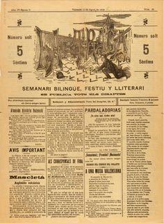 La Traca nova : semanari bilingüe festiu y lliterari: Año IV Época II Número 39 - 10 agosto 1912