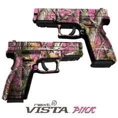 Pistol Skin Camouflage Wrap