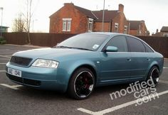 Modified Audi A6 2.5 TDI Quattro 2000