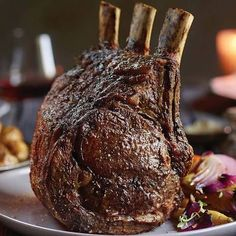 The world's easiest prime rib roast: Master a holiday classic Bone-in Prime Rib Roast lb from The Kansas City Steaks Company Prime Rib Roast Recipe Bone In, Bone In Rib Roast, Boneless Prime Rib Recipe, Cooking Prime Rib Roast, Slow Roasted Prime Rib, Prime Rib Of Beef, Beef Rib Roast, Smoked Prime Rib, Cooking A Roast
