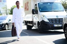 On the Streets of Paris Fashion Week Spring 2015 - Paris Fashion Week Spring 2015 Day 6