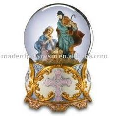 christian snowglobe - Bing Images