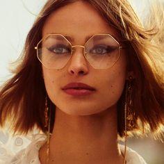 unettes octogonales Palma, Chloé, 280 €. Disponibles sur chloe.com. Il est venu le temps des lunettes de vue originales - Madame Figaro