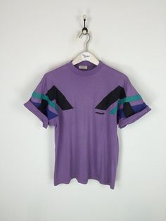 Adidas T-shirt Purple Medium