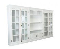 Belgrave Grand Wall Unit - Entertainment Unit - Xavier Furniture - Hamptons Style, Modern Elegance, Caribbean