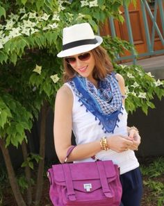 easy fall transition: summer hats to fall hats