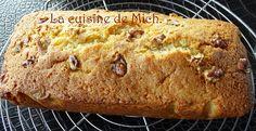 Cake à la noix de coco et noix