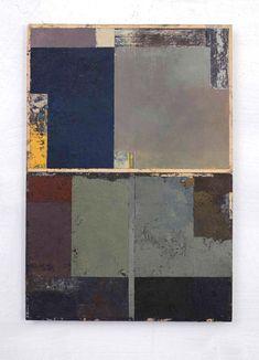 "Gerry Keon ~ ""Autumn Journal"", 2014. OilBar on Paper (41 x 66 cm)"