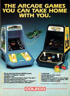 Arcade games! #80s #toys