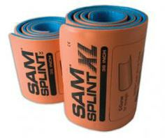 Flexible, adjustable, and reusable. Easily rolled and packed tightly. Really cool splints.