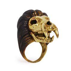 Leo Brass Ring - Monserat De Lucca