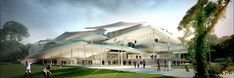 Gallery - SANAA Selected to Design Hungary's New National Gallery – Ludwig Museum - 2