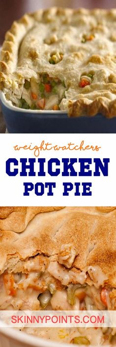 Chicken Pot Pie - Weight watchers SmartPoints 5