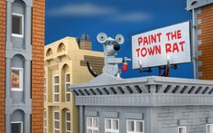 Bricksy: Artist reimagines Banksy's graffiti artwork in Lego, in pictures - Telegraph
