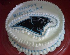 Carolina Panthers By ps1984 on CakeCentral.com