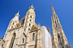 Stephen's is particularly famous for its majestic towers, which have dominated Vienna's skyline for centuries. Description from planetware.com. I searched for this on bing.com/images Vienna Map, Burial Vaults, Saint Stephen, Catacombs, To Infinity And Beyond, Notre Dame, Barcelona Cathedral, Cruise, Peeping Tom