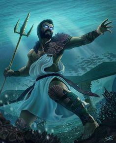 Poseidon by ForrestImel.deviantart.com on @DeviantArt