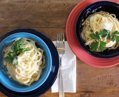 Cauliflower alfredo - you'll never know there are hidden veggies in this!