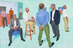 David Hockney | The Group V, 6-11 May (2014), Available for Sale | Artsy