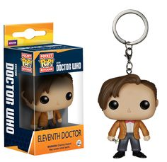 11th Doctor Pop! Vinyl Keychain