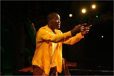 Daniel Beaty in his one man show Emergen-SEE! for our 2006-2007 season at Kenny Leon's True Colors Theatre Company.