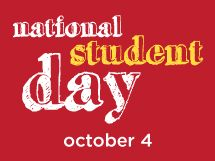 University of Missouri Saint Louis is celebrating National Student Day on October 4th!  #NSD2012