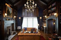 Cosmopolitan Home Magazine 2015 Home of the Year - Traditional - Living Room - grand rapids - by Francesca Owings Interior Design
