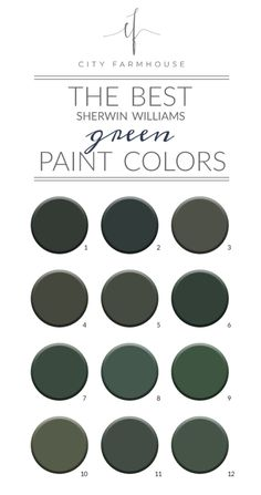 The Best Sherwin Williams Green Paint Colors