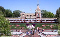 Disneyland entrance  via MiceChat #disneyland